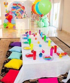 9th Birthday, Birthday Parties, Figet Toys, Neon Party, Ideas Para Fiestas, Diy Party Decorations, Unicorn Party, Slime, Theme Ideas