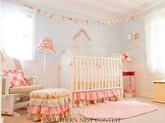 shabby chic nursery