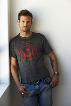 Matt Davis~Vampire Diaries ... I'm sad his character was killed off :( Especially since he's the only good thing about it).