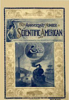 Scientific American Volume 75 Number 04 (July 1... Scientific American, July 1, Science Art, 50th Anniversary, Chemistry, Numbers, Numeracy