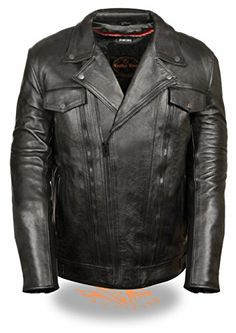 Special Offers - Leather King Mens Utility Pocket Motorcycle Jacket (Black X-Large Tall) - In stock & Free Shipping. You can save more money! Check It (August 30 2016 at 03:58PM) >> http://motorcyclejacketusa.net/leather-king-mens-utility-pocket-motorcycle-jacket-black-x-large-tall/