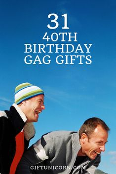 Some people dread turning forty. So, why not turn those frowns upside-down with some gag gifts during the next fortieth birthday party you attend? Gag Gifts For Men, Funny Gifts For Friends, Gifts For Dad, Christmas Gifts For Boyfriend, Christmas Gifts For Friends, Boyfriend Gifts, Forty Birthday, Man Birthday, Birthday Ideas