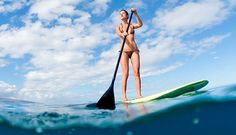 Stand Up Paddleboarding.  LOVED IT!