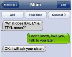 New funny mom texts messages humor 41 Ideas Text Jokes, Funny Text Fails, Funny Text Messages, Text Pranks, Message Iphone, Funny Mom Texts, Mom Funny, Funny Stuff, Funny Texts From Parents