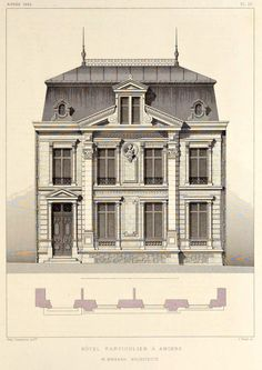 """archimaps: """" A private residence, Angers """""""