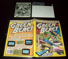 Green Beret (1986), C64 disk