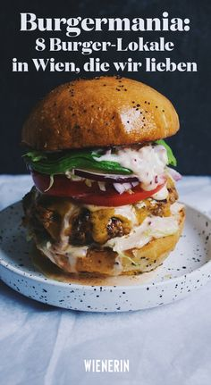 Are you Burger lover? We tasted 5 delicious burger places in Amsterdam and we recommend all of them! Check our personal best burgers list in Amsterdam, Chocolate Chip Zucchini Bread, Pork Burgers, Grilling Burgers, Burger Food, Cheeseburger, Low Cholesterol Diet, Vegan Cookbook, Corn Dogs, Chicken Wing Recipes