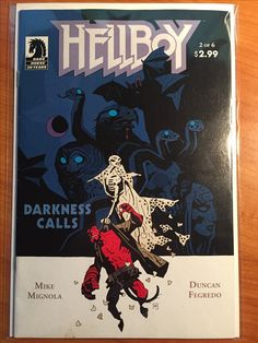 Hellboy Darkness Calls #2 -  May 2007 - Dark Horse