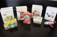 Today on Fisher Price Fridays I'd like to show you the smallest Fisher Price Little People toys yet. I discovered these cute little ornamen. Fisher Price Toys, Vintage Fisher Price, Hallmark Christmas Ornaments, Christmas Holidays, Retro Toys, Vintage Toys, Ornament Box, Retro Advertising, Childhood Memories