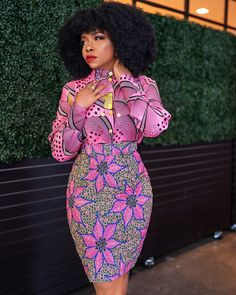 Short African Dresses, Latest African Fashion Dresses, African Print Dresses, African Print Fashion, Africa Fashion, African Wear, African Attire, African Women, Moda Afro