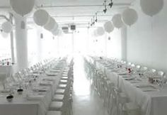 All White Party Decorations Wedding Parties