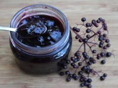 Elderberries have a very short season, and they barely have time to ripen before they're Elderberry Jelly Recipe, Elderberry Juice, Pomona Pectin, Home Canning Recipes, Jelly Bag, Jelly Recipes, Canning Jars, Fruit Juice, Healthy Drinks
