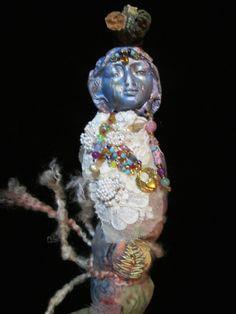 Loving Goddess Spirit Doll. Face by MyIrishGypsy on Etsy. Doll Design by Brigit Snyder