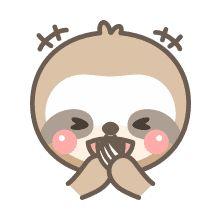 Sloth Stuff, Shrinky Dinks, Line Store, Sloths, Instagram Ideas, Card Stock, Art Drawings, Doodles, Stickers