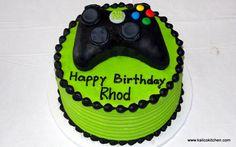 xbox cakes | Birthday-Cakes-Boys-Microsoft-Xbox-1.jpg