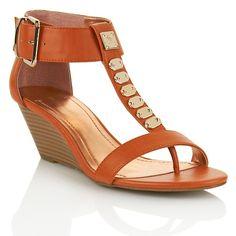 "BCBGeneration ""Vella"" Ankle Strap Wedge Sandal"