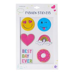 6-pc. Best Day Ever Stickers