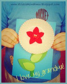 kwiatek na dzień babci