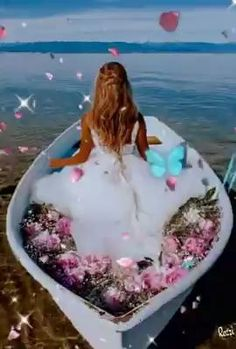 Beautiful Angels Pictures, Cute Love Images, Angel Pictures, Beautiful Fantasy Art, Beautiful Gif, Beautiful Landscape Wallpaper, Beautiful Landscapes, Beau Gif, Good Morning Beautiful Flowers