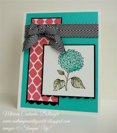 stampin' up, M stampin' with you, Miriam Castanho Bollinger, demonstrator, dsc 063, best of flowers, scallop punch, quarterfancy specialty dsp, su