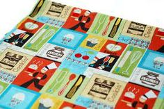 Pin, Tack, Sew - Chocolate Fat Quarter FQ