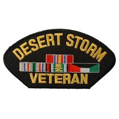 My Husband is a Desert Storm Veteran