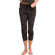Women's Colosseum Wader Yoga Capris, Size: Small, Black