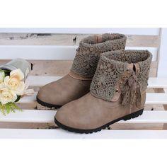 Cute Beige Girls Kids Juniors Party Dress Ankle Boots Sale Online  SKU-133164