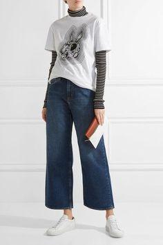 Dark-blue denim Button and concealed zip fastening at front 100% cotton Machine wash Designer wash: Mirry Imported