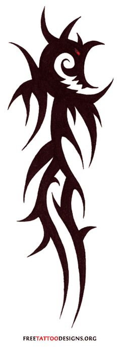Tribal Dragon Tattoo Designs