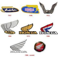 Honda motorcycle logo history
