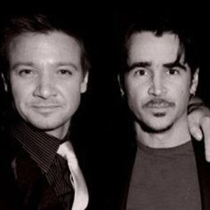 Photo of Jeremy Renner & his friend  Colin Farrell