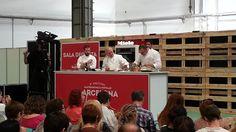 Mais Beatus Ille - Receitas simples, culinária fácil e gastronomia curiosa: Os cracks no Barcelona Degusta