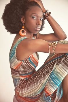 ruled by color Afro, African, Female, Color, Shopping, Beautiful, Colour, Colors