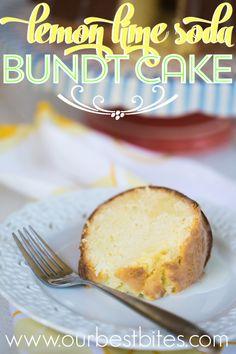 Lemon-Lime Soda Bundt Cake
