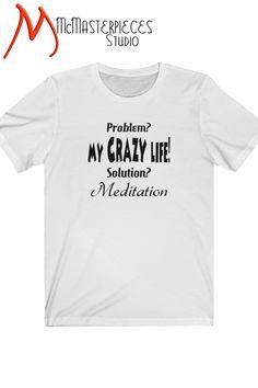 Keep Calm And Meditate Yoga Meditation Altered State Novelty Fun T-shirt