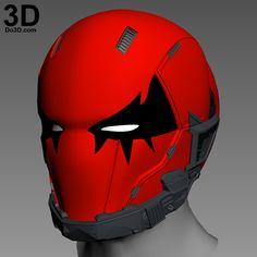 3D Printable Model: Red Hood Joker Variant Helmet Cowl | Print File Formats: STL – Do3D.com