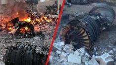 Syrien-Abschuß von Russenjet - In der Provinz Idlib im Nordwesten Syriens haben Rebellen am Samstag nach Angaben von Aktivisten ein russisches Flugzeug abgeschossen.