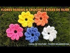 Hola en este video les voy a enseñar a tejer esta linda Flor tejida a crochet # 4 o clavel tejido a crochet paso a paso, es una linda flor para tejer tapetes...