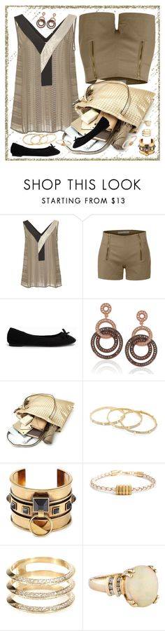 """""""Neutrals"""" by petalp ❤ liked on Polyvore featuring Zeus+Dione, LE3NO, Nly Shoes, Suzy Levian, Diane Von Furstenberg, Alexander McQueen, Half United, Ileana Makri, ootd and tote"""