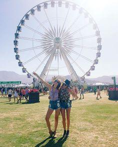 We made it to Coachella! #mumufestival