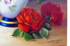 flores para pintar em tela - Pesquisa Google