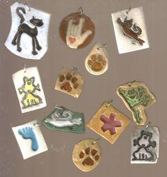 Some ceramics jewelry
