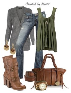 Casual & Comfortable for Fall by dlp22 on Polyvore featuring Paul Smith, True Religion, Jessica Simpson, Vince Camuto, Sara Designs, Stella & Dot, Adia Kibur and Pieces