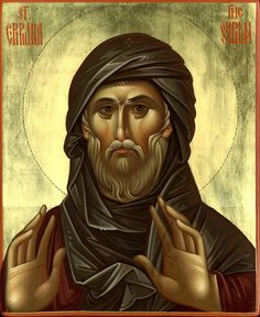 Of all Lenten hymns and prayers, one short prayer can be termed the Lenten prayer. Tradition ascribes it to one of the great teacher. Byzantine Icons, Byzantine Art, Religious Icons, Religious Art, Art Icon, Catholic Saints, Orthodox Icons, Sacred Art, Angels