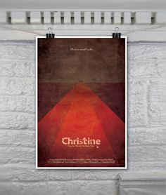 Christine // Vintage Inspired Horror Movie Poster by TheGeekerie, $18.00
