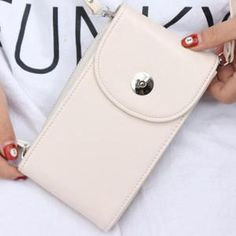crossbody phone bag for women, phone bag for women,smart phone bag for women,mobile phone bag for women Chain Crossbody Bag, Crossbody Wallet, Nude Bags, Canvas Handbags, Pink Beige, Leather Shoulder Bag, Leather Wallet, Shoulder Bags, Casual Bags