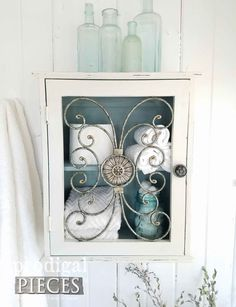 Beautiful Storage Box for Bathroom, Bedroom, and More by Larissa of Prodigal Pieces | prodigalpieces.com #prodigalpieces #shopping #homedecor