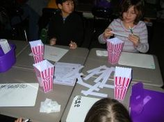 """Pirate Attack"" and ""Going to the Movies""-- good centers for fluency"