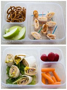 Healthy lunches for a person with ADHD. #additudemag and #adhdplate